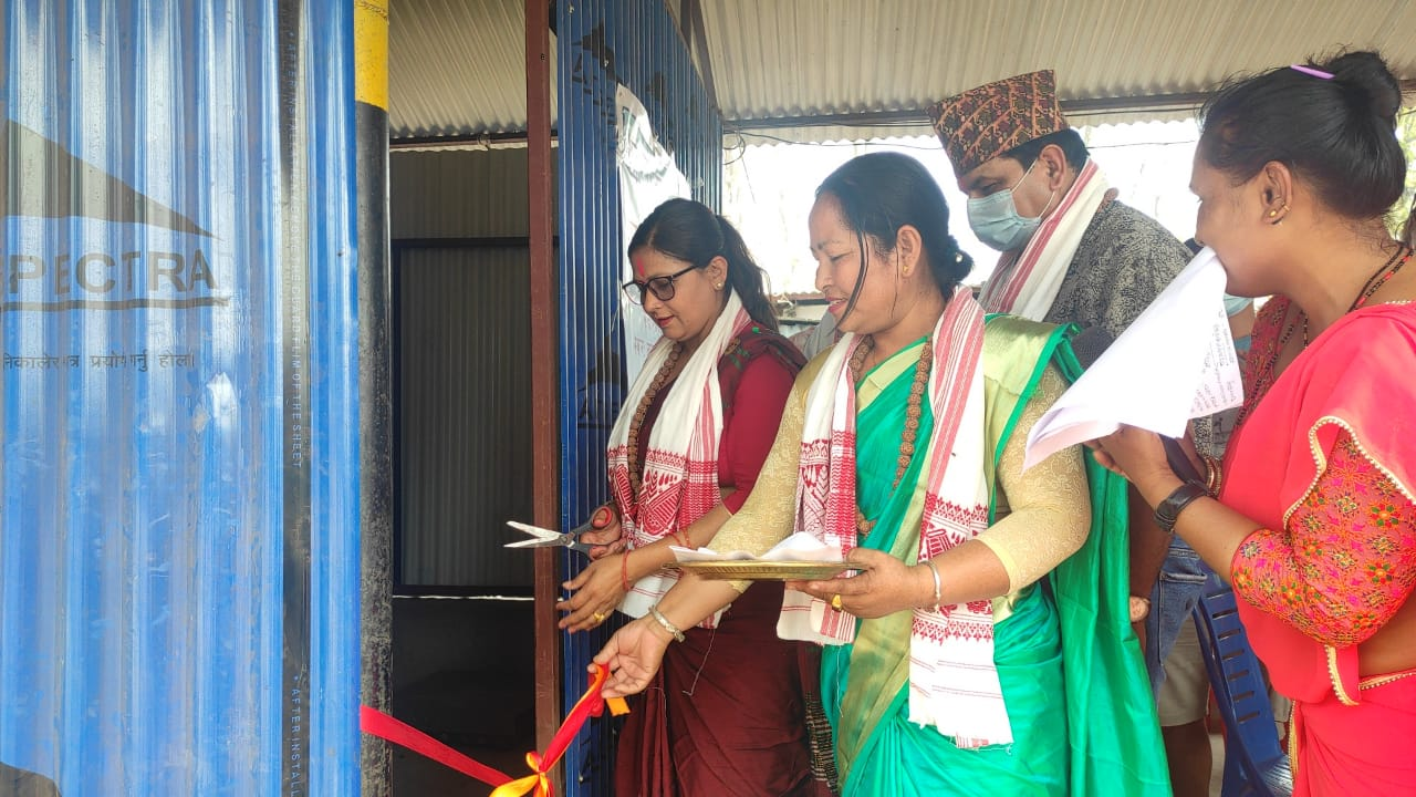 बाख्रा श्रोत स्थापना कार्यक्रमको सार्वजनिक सुनुवाई