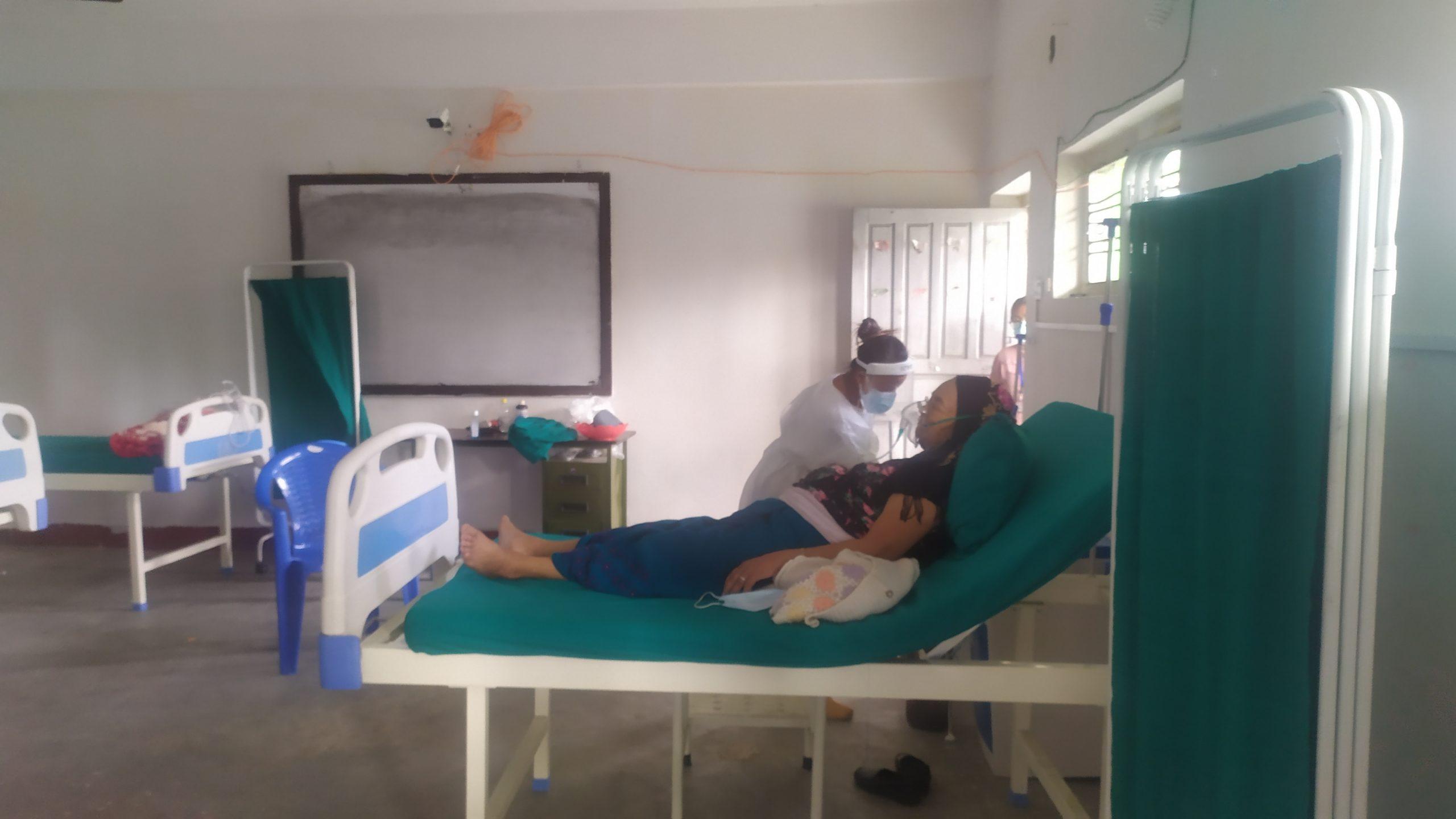 कोरोनाका बिरामिको उपचार लेटाङमा सुरु
