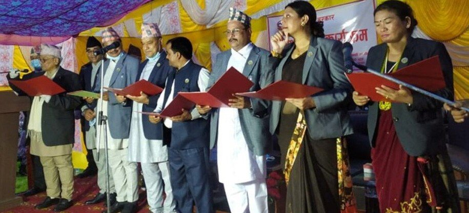 लुम्बिनी प्रदेशका मुख्यमन्त्री केसीसहित सात मन्त्रिद्वारा सपथ